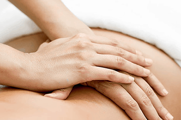 Physiotherapy massage for neck pain and lower back pain